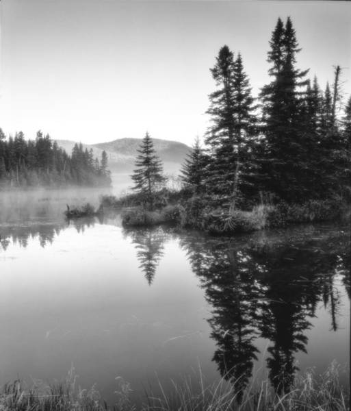 Poster featuring the photograph Maine Solitude by Michael Hubley