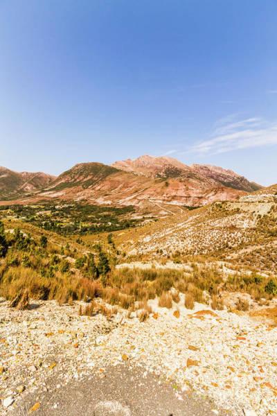 Majestic Arid Peaks Poster