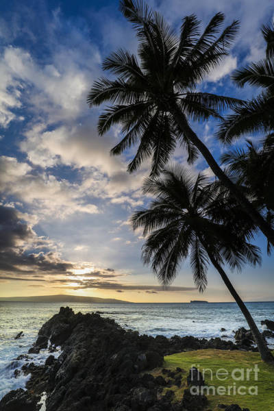 Makena Maui Hawaii Sunset Poster