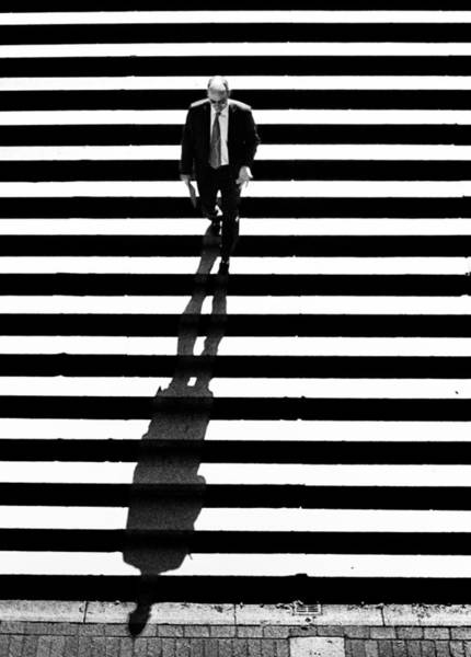 Man Bethesda Steps Poster