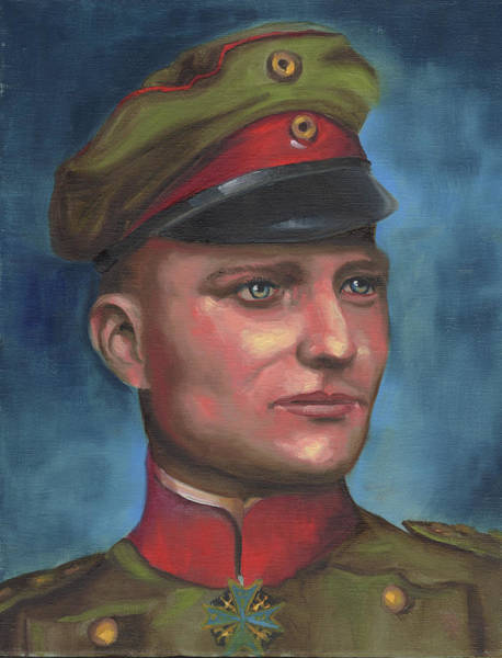 Manfred Von Richthofen The Red Baron Poster