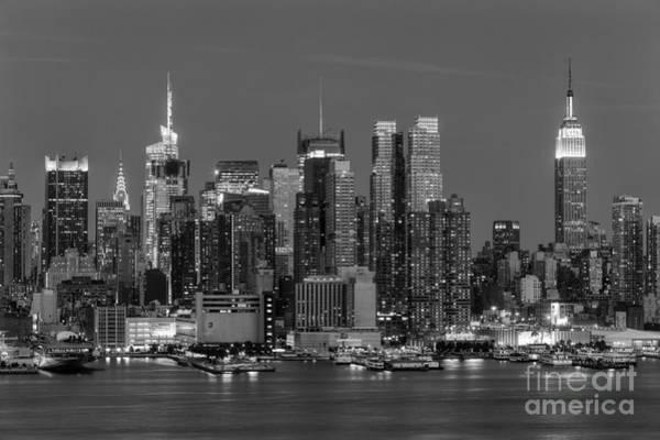 Manhattan Twilight Iv Poster