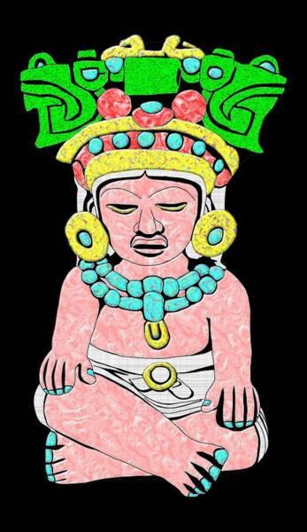 Marble Maya Poster