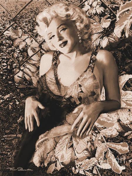 Marilyn Monroe 126 A 'sepia' Poster