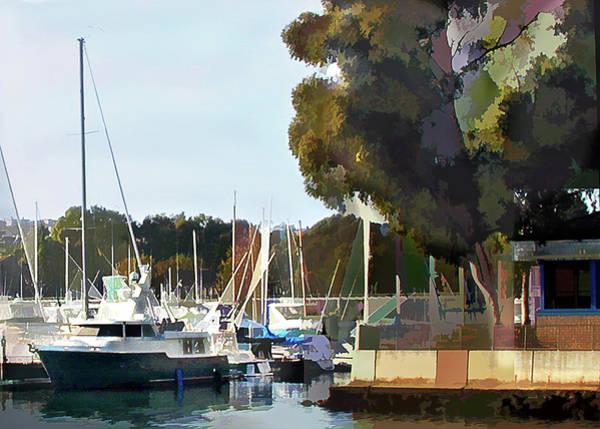Marina Views Poster
