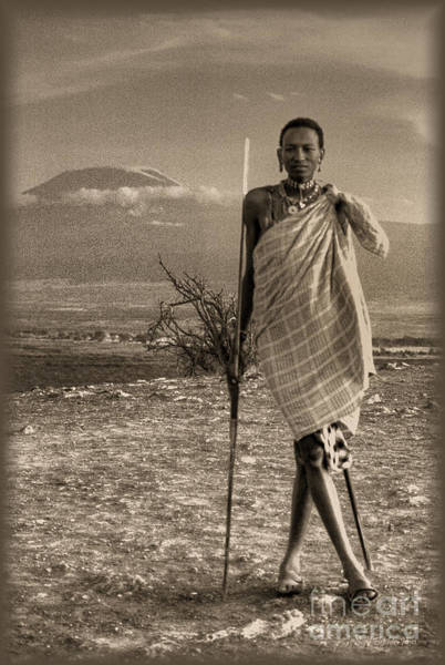 Masai Kilimanjaro Poster