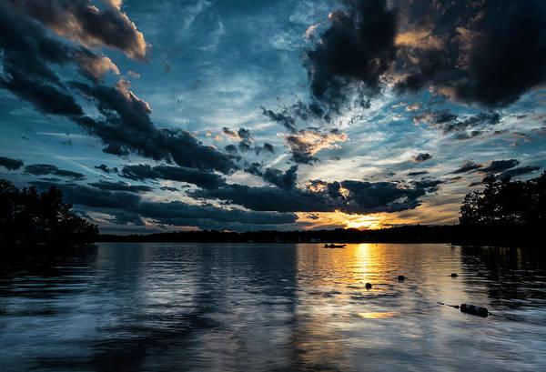 Masscupic Lake Sunset Poster