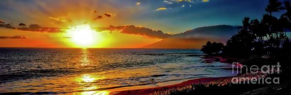 Maui Wedding Beach Sunset  Poster