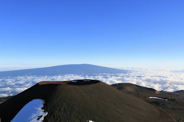 Mauna Loa In The Distance Poster