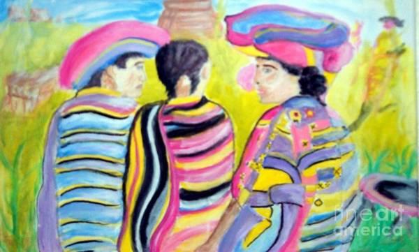 Mayan Indians Poster