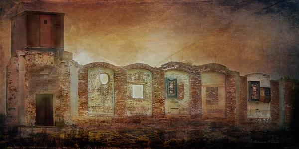 Mayfair Mills Ruins Easley South Carolina Poster