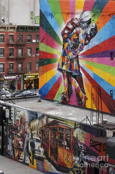 Poster featuring the photograph Meatpacking District Nyc by Juergen Held