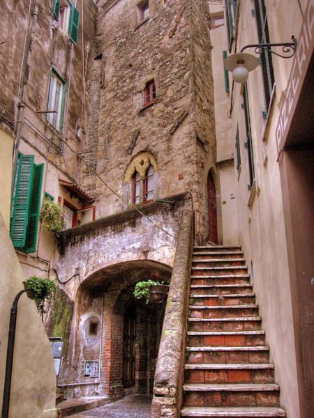 Medieval Borgo In Nettuno Poster