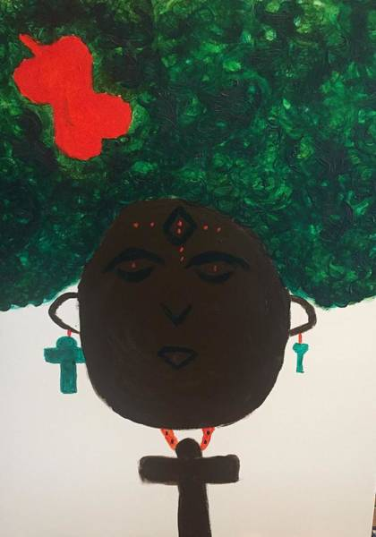 Meditation Queen  Poster