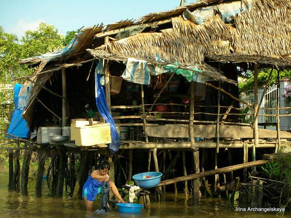 Mekong River Chores Poster