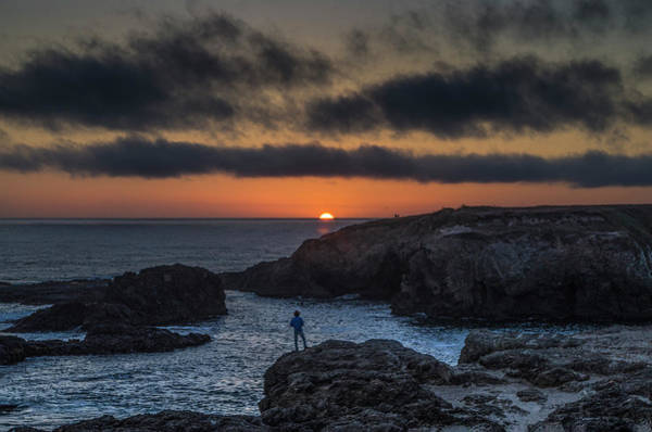 Mendocino Sunset Poster