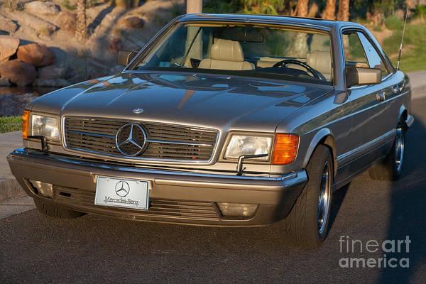 Mercedes 560sec W126 Poster