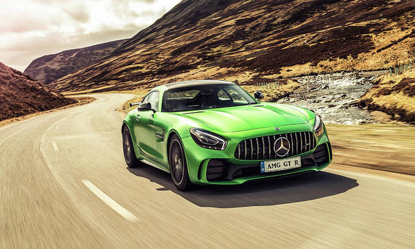 Mercedes A M G  G T  R Poster