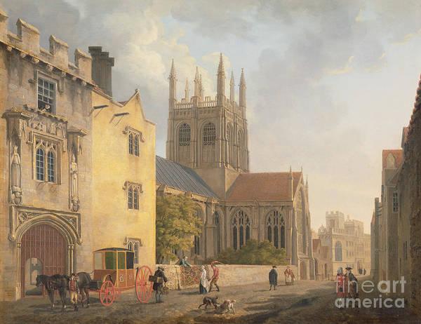 Merton College - Oxford Poster