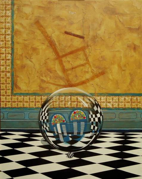 Mesiendonos Eternamente -diptych Left Side- Poster