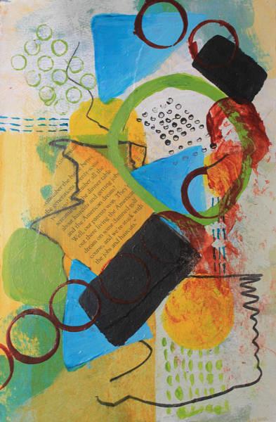 Messy Circles Of Life Poster