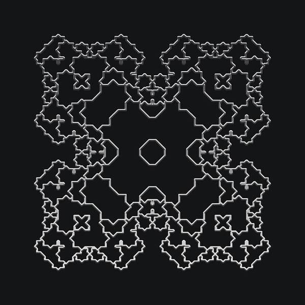 Metallic Lace Aiv Poster