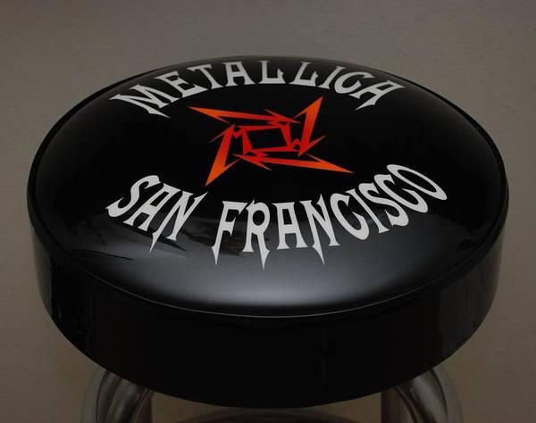 Metallica Bar Stool Poster