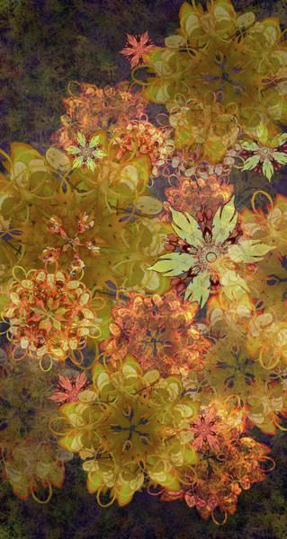 Midnight Blossom Bouquet Poster
