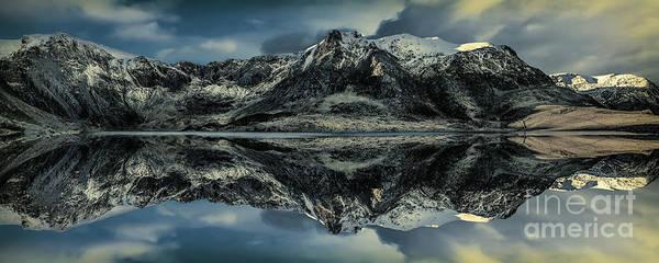 Midnight Lake Poster