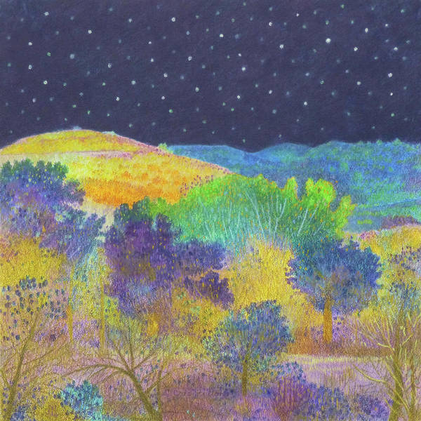 Midnight Trees Dream Poster