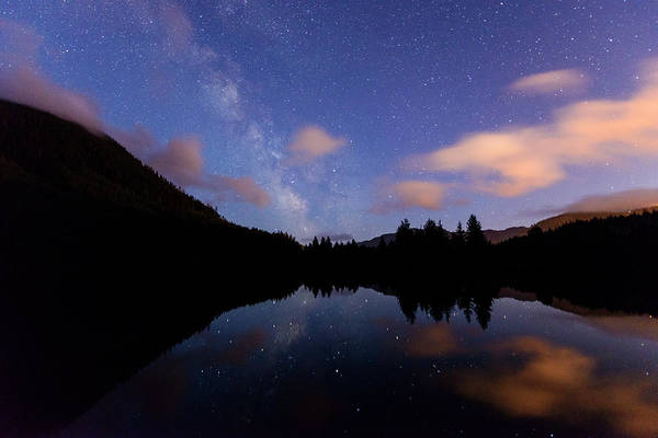Milky Way At Snoqualmie Pass Poster