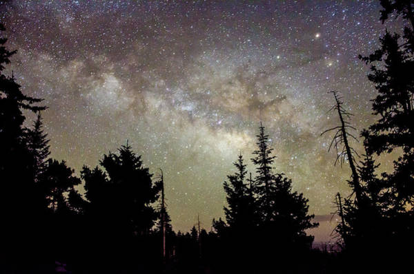Milky Way From Mt. Graham Poster