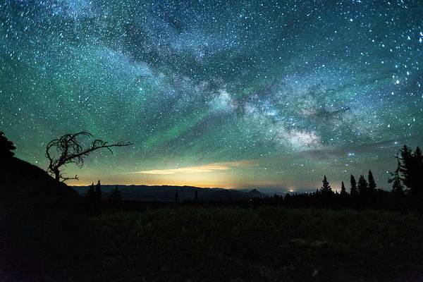 Milky Way Rising Poster