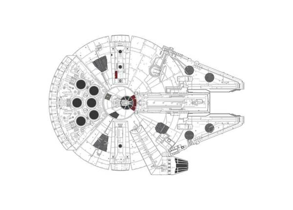 Millennium Falcon I Poster