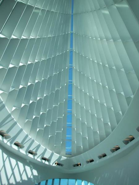 Milwaukee Art Museum Interior Poster