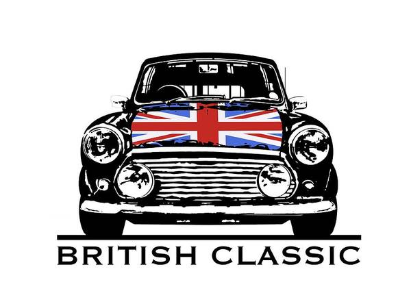 Mini British Classic Poster