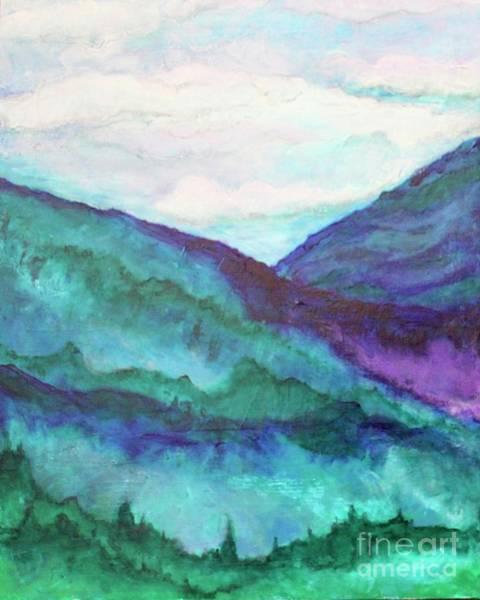Mini Mountains Majesty Poster