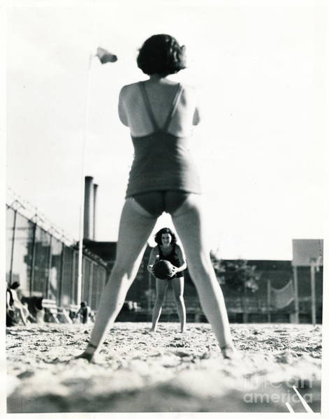 Miramar Pool, 1932 Poster