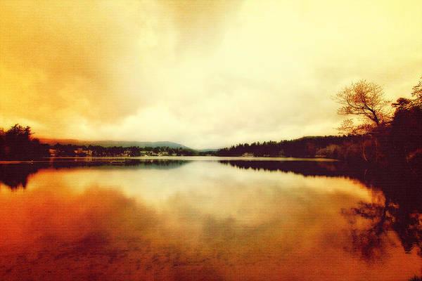 Mirror Lake At Sunset Poster