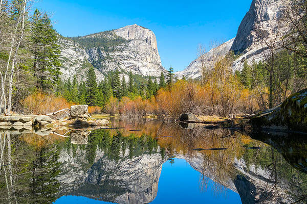 Mirror Lake Yosemite Np Poster