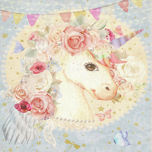 Miss Lolly Unicorn Poster