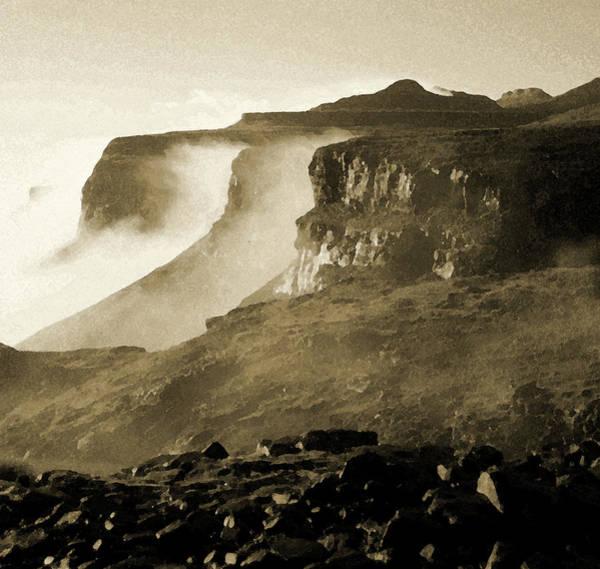 Mist In Lesotho Poster