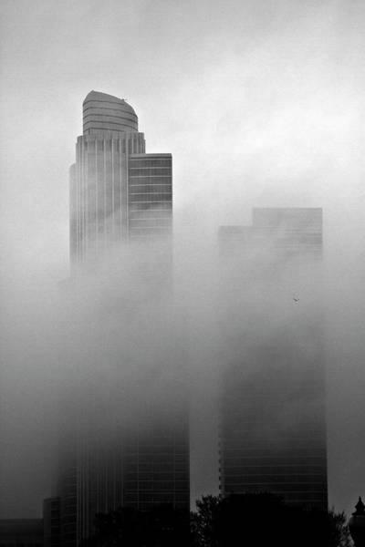 Misty Morning Flight Poster