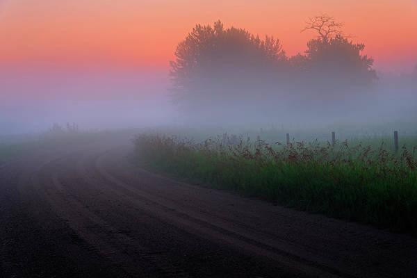 Misty Mornings Poster