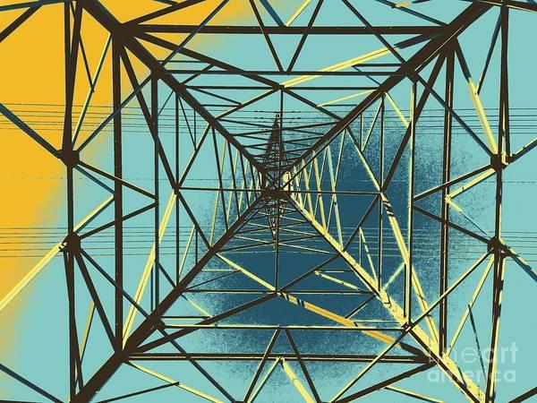 Modern Pyramid Poster