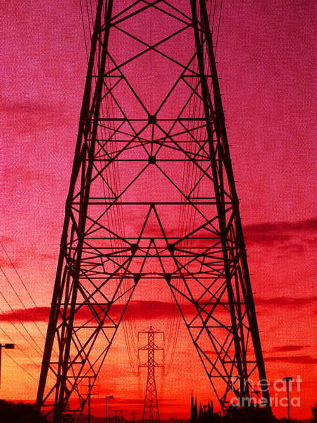 Modern Sunset Poster