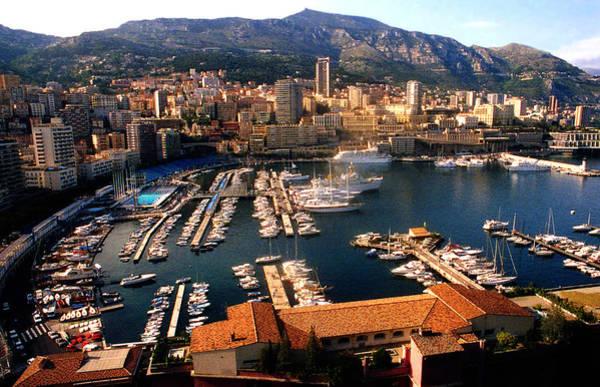 Monaco Harbor Poster