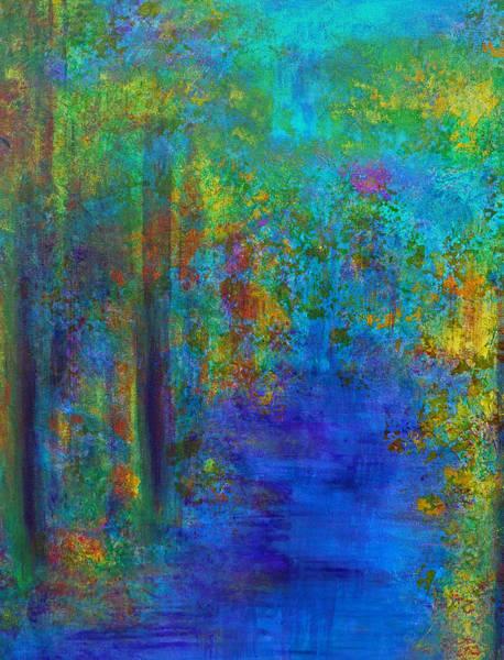 Monet Woods Poster
