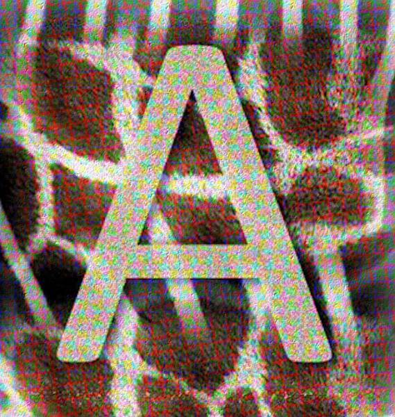 Monogram A Poster