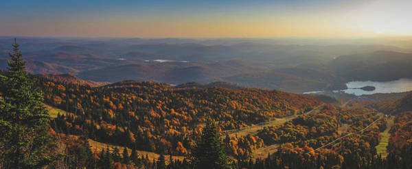 Mont Tremblant Summit Panorama Poster